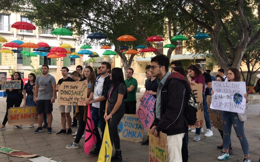"""""""Fridays for Future"""" – the global movement in Malta"""