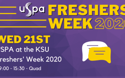 Celebrate Freshers' Week with USPA!