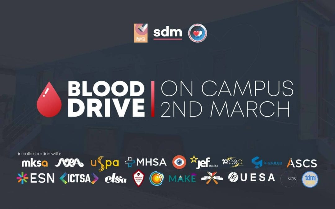 Donate Blood at SDM's BLOOD DRIVE