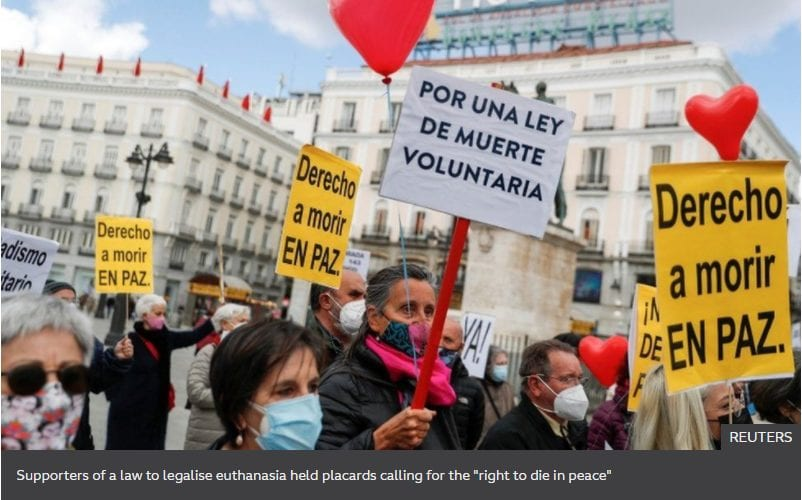Spain did it, why can't Malta legalise euthanasia?